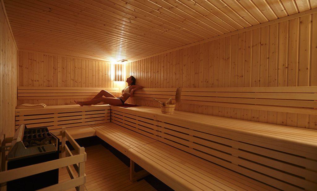 Sauna en Zonnebank